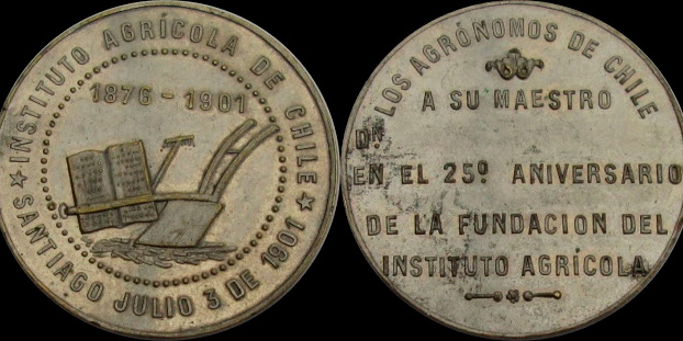 Medallas Instituto Agrícola